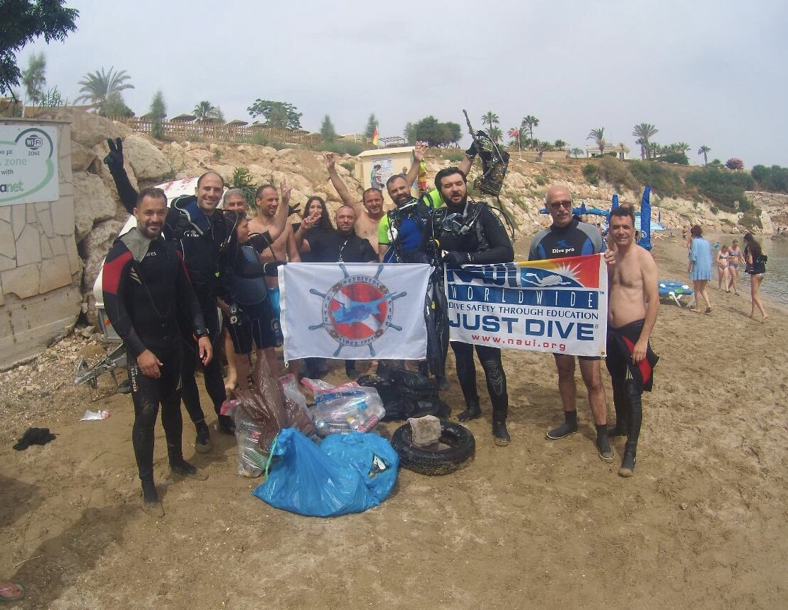 Πραγματοποιήθηκε υποβρύχιος καθαρισμός της παραλίας Μάλαμα στον Πρωταρά