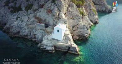 Το εκκλησάκι της Παναγίας που χτίστηκε από κρασί και χώμα