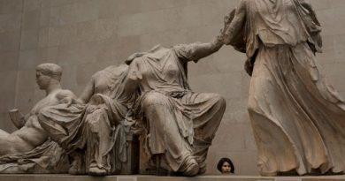 Τα γλυπτά του Παρθενώνα ανήκουν σήμερα πια στην Ελλάδα