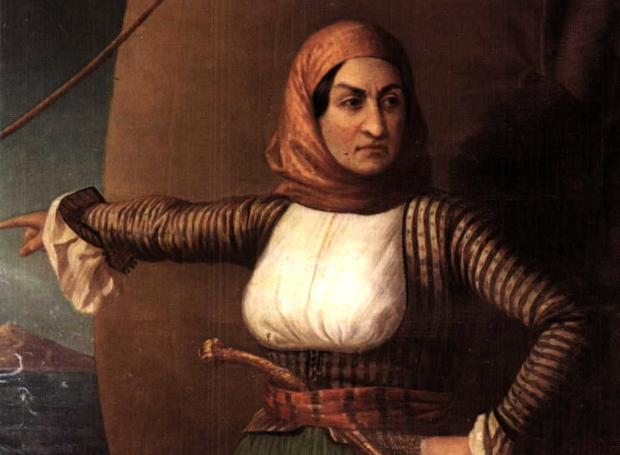 Ήρωες του 1821: Μπουμπουλίνα