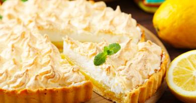 Tάρτα λεμονιού: Το ελαφρύ και δροσιστικό γλυκό