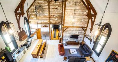Πώς μια εκκλησία 133 ετών μεταμορφώθηκε σε ένα ονειρεμένο σπίτι