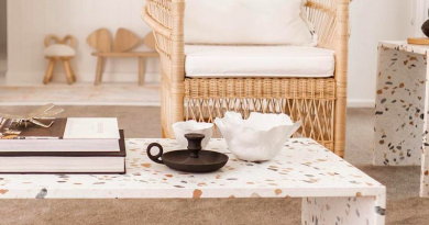Η διακοσμητική τάση του Terrazzo «προσγειώνεται» στα πιο στιλάτα coffee tables