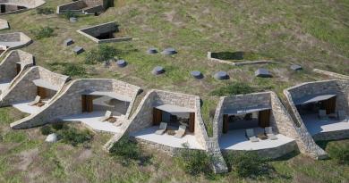 Το ξενοδοχείο που είναι χτισμένο μέσα στη γη