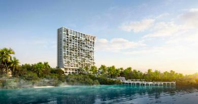 Το εντυπωσιακό ξενοδοχείο με τους εναέριους κήπους
